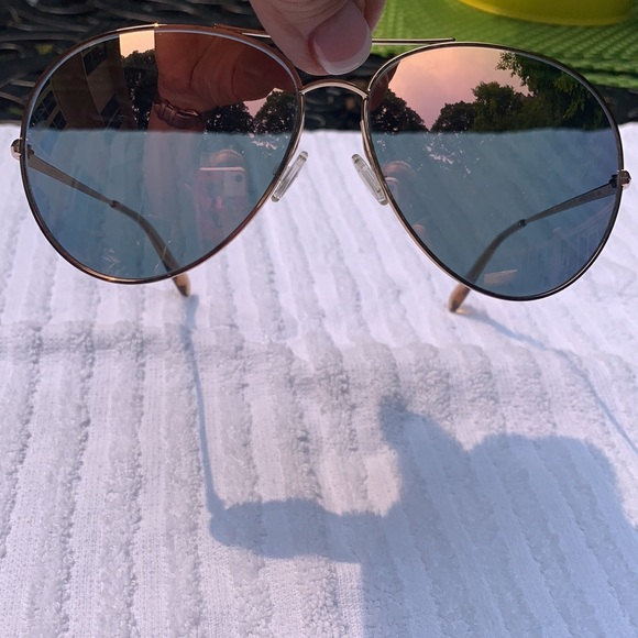 Oliver peoples sayer rose gold sunglasses perfect